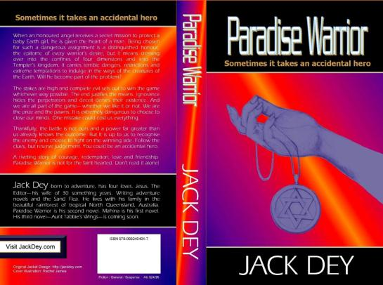 Paradise Warrior_JackDey_paperback cover